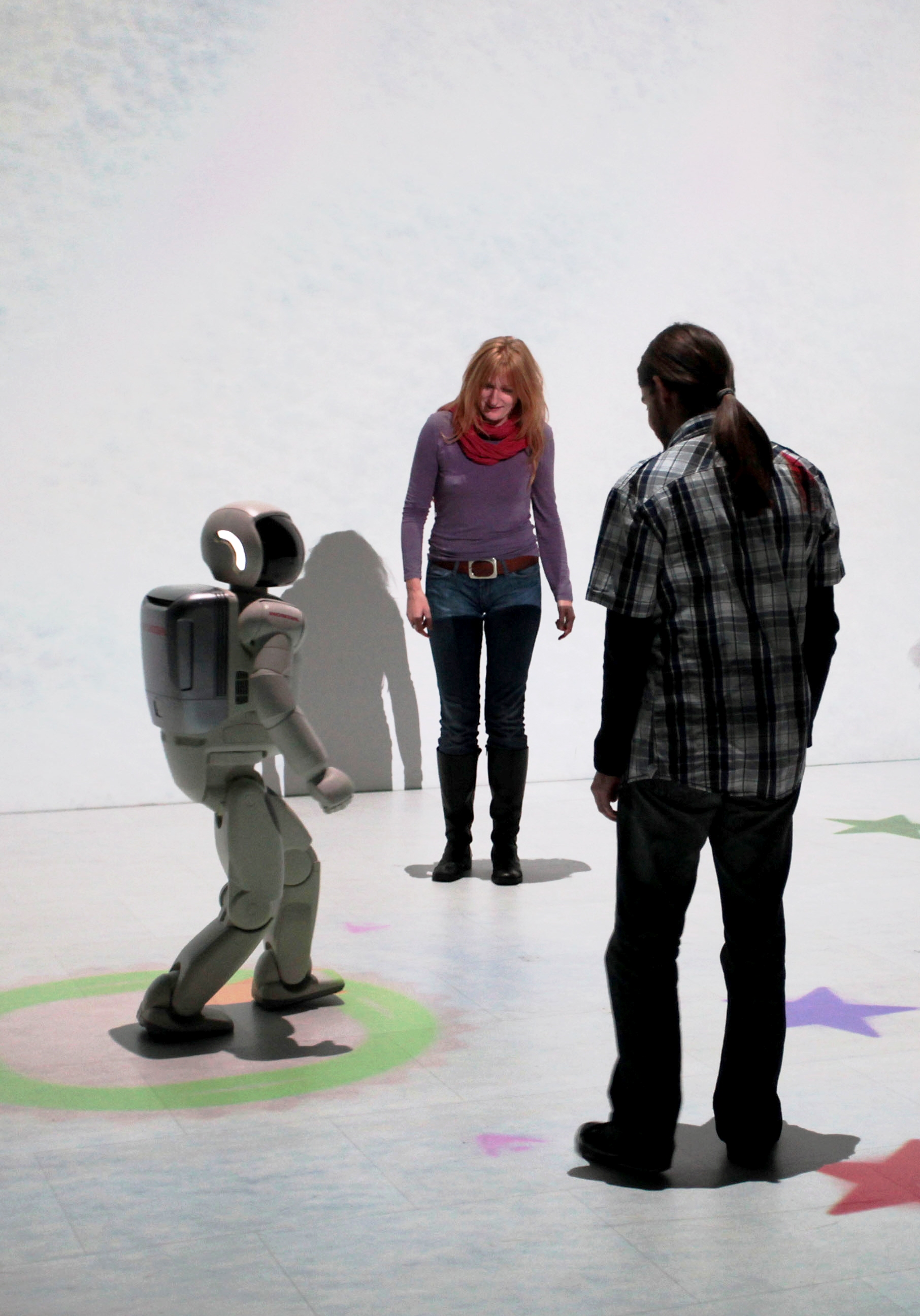 14435 Members of the public interact with ASIMO at Ars Electronica ... Industry News