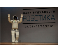 "ASIMO Performs in Serbia at the ""Days of Future: Robotics"" festival"
