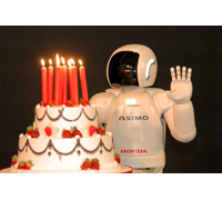ASIMO celebrates its 10th anniversary on Oct. 31, 2010.