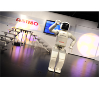 ASIMO is presented at the Honda Power of Dreams Experience at the Sundance Film Festival 2011 in Park City, Utah.