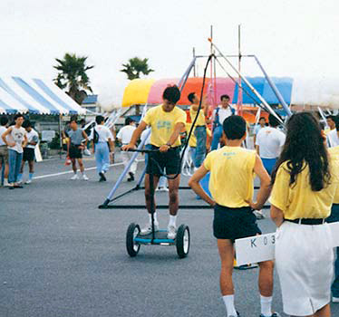 The Fantasy bike was presented at an Idea Contest in 1989.