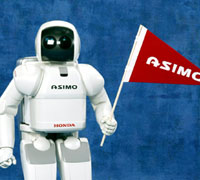 ASIMO travelled to Tallinn, Estonia recently to help launch a Honda science scholarship for the Tallinn University of Technology.